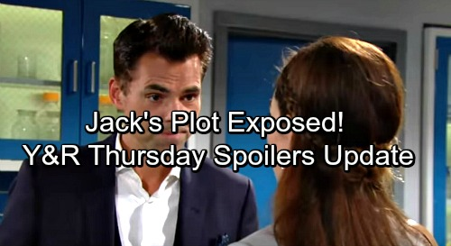 The Young and the Restless Spoilers: Victoria Learns Shocking Info – Jack's Plot Discovered – Sharon's Suspicions Intrigue Scott