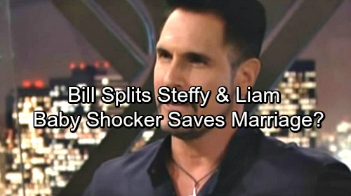 The Bold and Beautiful Spoilers: Vengeful Bill Drives Liam and Steffy Apart – Pregnancy Shocker Hits, Baby Saves Broken Marriage?