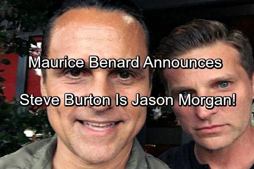 General Hospital Spoilers: Maurice Benard Says Steve Burton Is Original Jason Morgan, Shares New Storyline Info