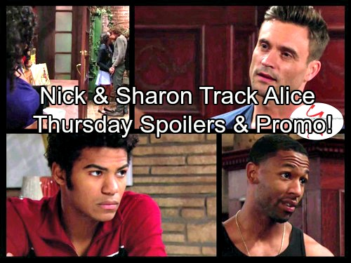 The Young and the Restless Spoilers: Cassie Speaks In Dreams - Nick Puts Tracking Device on Alice's Car