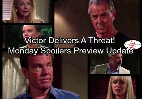 The Young and the Restless Spoilers: Monday, September 18 - Dina Drops a Bomb on Graham – Victor Delivers a Threat