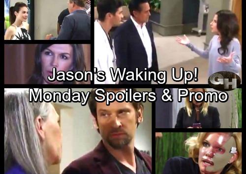 General Hospital Spoilers: Monday, September 18 – Betsy Tricks Franco, Escapes – Jason's Waking Up