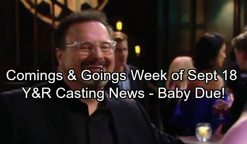 The Young and the Restless Spoilers: Comings and Goings The Week of September 18 - Casting News