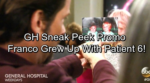 General Hospital Spoilers: Franco Gets Shocking Truth From Betsy - Franco Grew Up With Patient 6