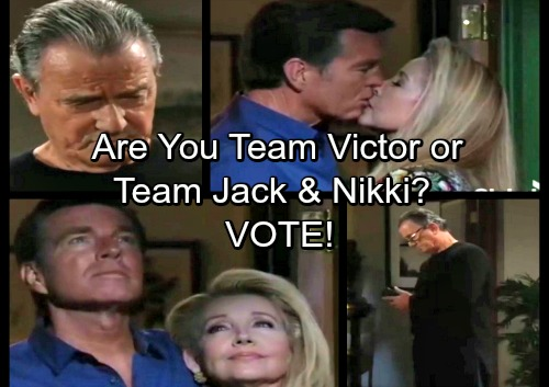 The Young and the Restless Spoilers: Genoa City Classic Showdown - Team Jack and Nikki or Team Victor?