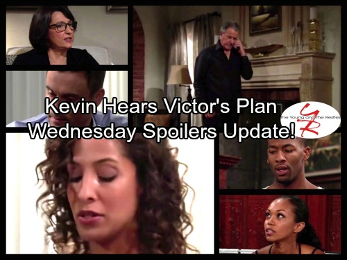 The Young and the Restless Spoilers: Wednesday, September 20 Update - Kevin Hears Victor's Plan of Attack – Lily Shatters Cane