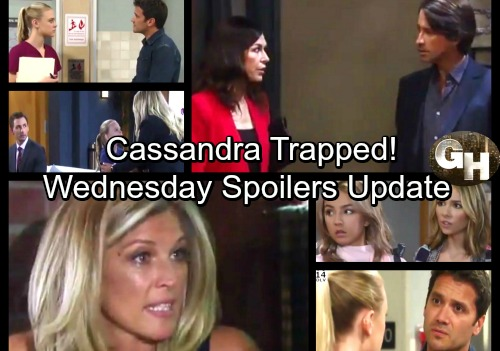 General Hospital Spoilers: Wednesday, September 20 Update – Trap Set for Cassandra – Valentin Shocks Lulu