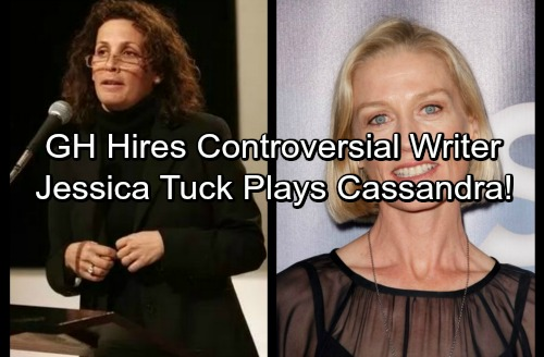 General Hospital Spoilers: Shocking Hiring Decision, New GH Writer Barbara Bloom Worries Fans - Jessica Tuck Plays Cassandra