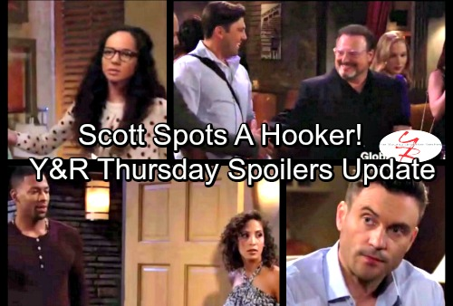 The Young and the Restless Spoilers: Thursday, September 21 - Kevin Agrees to Steal Millions from Nick - Irv West With A Hooker