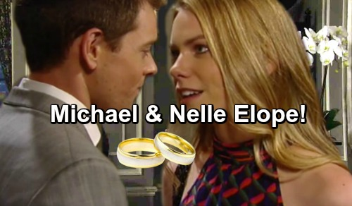 General Hospital Spoilers: Michael Makes Bold Move With Nelle, Proposes Marriage - Puts Carly and Bobbie In Their Place