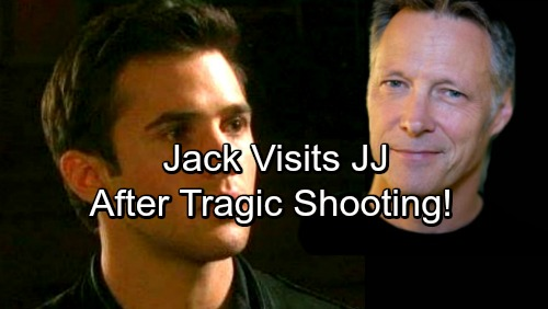 Days of Our Lives Spoilers: JJ Guilt-Ridden Over Shooting Theo, Ghost Jack Visits Son