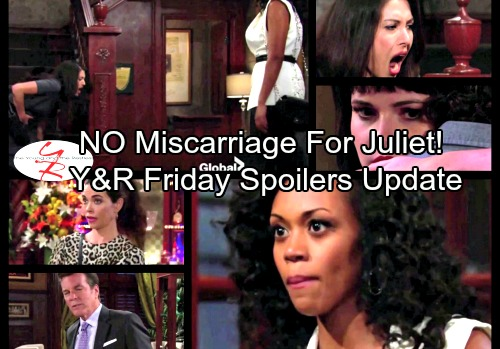 The Young and the Restless Spoilers: Friday, September 22 Updates - No Miscarriage For Juliet – Tessa Interrogates Natalia