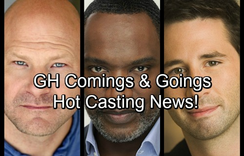 General Hospital Spoilers: Comings and Goings - Hot Casting News Moving Into October
