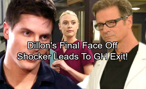 General Hospital Spoilers: Dillon Faces Off With Dr. Bensch, Kiki Drama Heats Up – Shocking Consequences Lead To Dillon's GH Exit