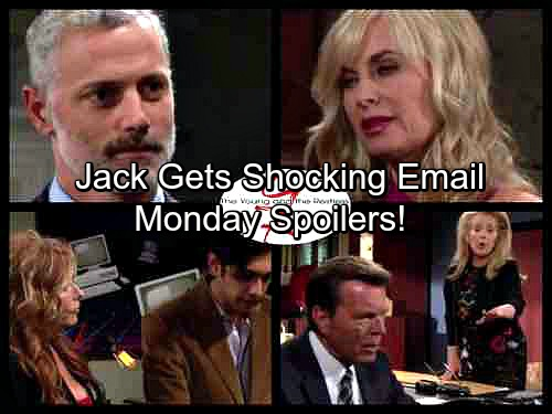 The Young and the Restless Spoilers: Monday, September 25 - Phyllis Faces a Shocking Betrayal – Jack's Puzzling Email From Victor
