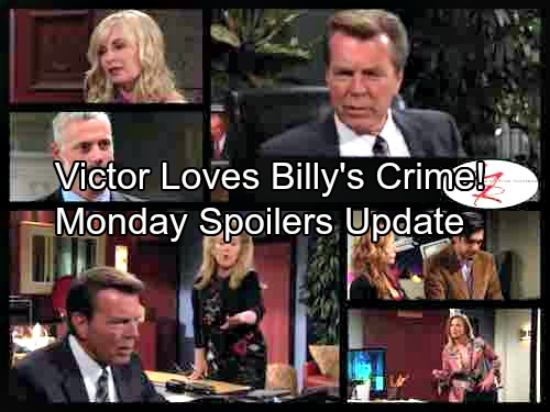 The Young and the Restless Spoilers: Monday, September 25 Update - Photo Bombshell Hits Hard – Victor Wowed By Billy's Crime
