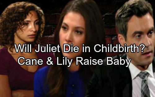 The Young and the Restless Spoilers: Will Juliet Bleed To Death, Die in Childbirth - Leave Cane and Lily to Raise Baby?