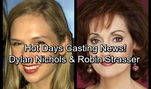 Days of Our Lives Spoilers: Hot Casting News - Robin Strasser and Stephen Nichols Daughter, Dylan Nichols Join DOOL