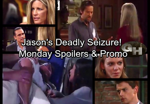 General Hospital Spoilers: Monday, September 25 – Jason Has Deadly Seizure – Franco Demands Twin Answers - Ava's Final Warning