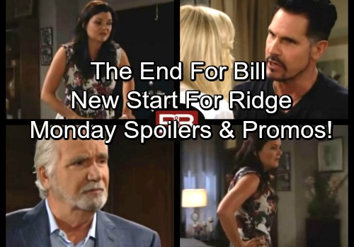 The Bold and the Beautiful Spoilers: Monday, September 25 - Eric's Declaration Shocks Ridge – Katie Predicts Brooke's Future