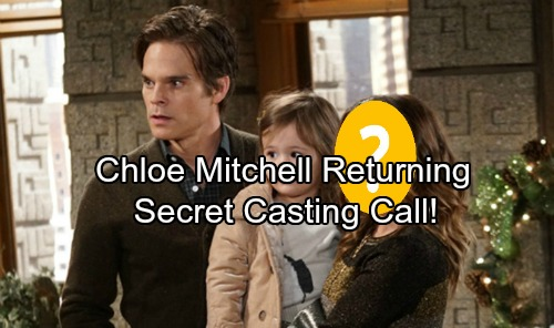 The Young and the Restless Spoilers: Casting News Shocker, Chloe Mitchell Secret Casting Call - Coming and Goings