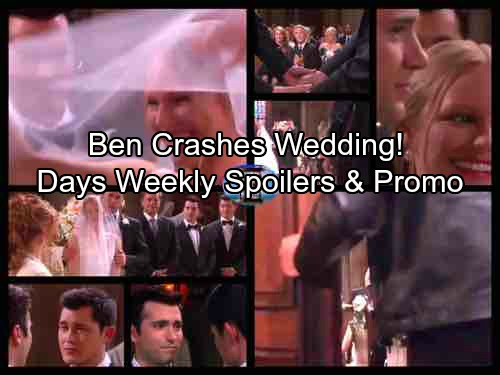 Days of Our Lives Spoilers: Week of September 25 Spoilers - Ben's Violent Escape – Double Wedding Derailed As Wild Ben Arrives