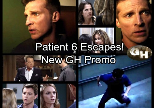 General Hospital Spoilers: Patient 6 Escapes In New GH Promo Video - Terror At The Baronski Clinic