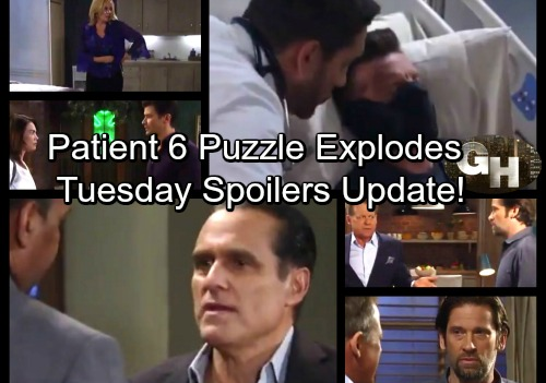 General Hospital Spoilers: Tuesday, September 26 Update – Patient 6 Puzzle Causes Panic – Nathan's Impotent – Liz Warns Griffin