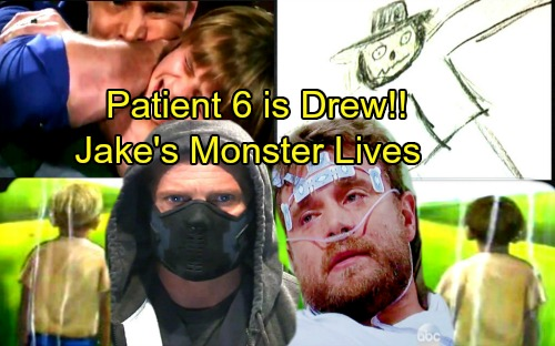 General Hospital Spoilers: Patient 6 Is Drew, Jason's Twin - Little Jake's Monster and Helena's Experiment Is Alive