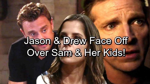General Hospital Spoilers: Jason and Drew Face Off Over Sam – Brothers Struggle With Children and Conflict