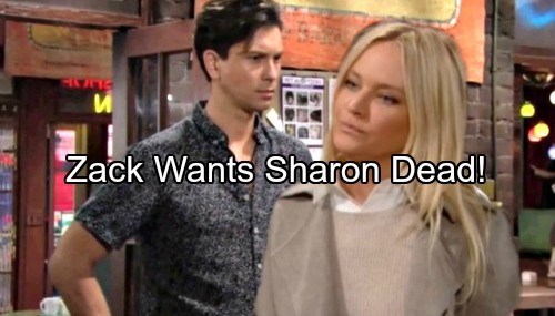 The Young and the Restless Spoilers: Sharon Trapped, Forced to Rely on Alice – Zack Wants Sharon Dead, Can Scott Save Her?