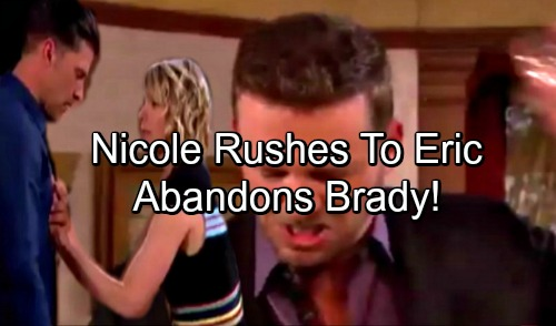 Days of Our Lives Spoilers: Nicole Races to Eric After Discovering His True Feelings – Brady's World Crumbles