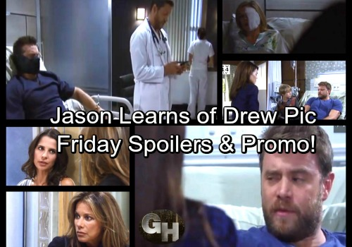 General Hospital Spoilers: Friday, September 29 – Jason Gets Puzzling Picture News – Griffin Heads On Heroic Mission