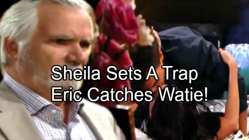 The Bold and the Beautiful Spoilers: Sheila Sets a Trap, Eric Catches Katie and Wyatt