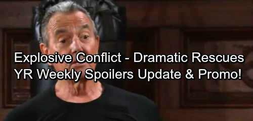 The Young and the Restless Spoilers: Week of October 2 Update - Fierce Threats, Dramatic Rescues and Devastating Blows