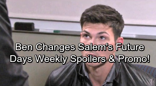 Days of Our Lives Spoilers: Week of October 2 – Violent Outbursts, Shocking Revelations and New Beginnings