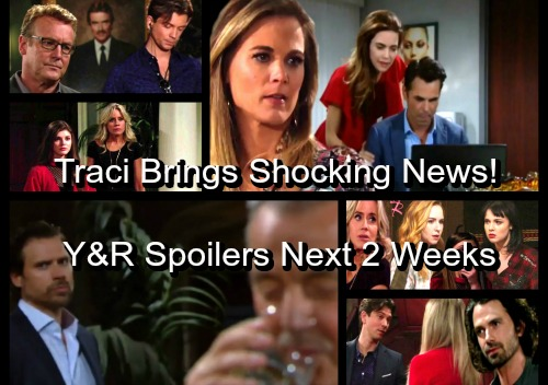 The Young and the Restless Spoilers: Next 2 Weeks - Traci Brings Stunning News – Zack Shows Deadly True Colors