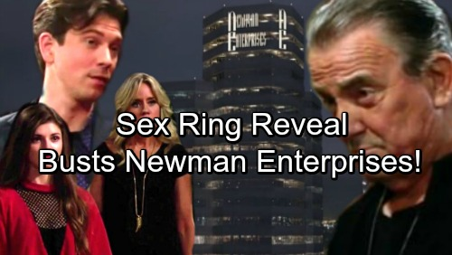 The Young and the Restless Spoilers: Sex Ring Reveal Damages Newman Enterprises – Victor's Company Publicly Shamed