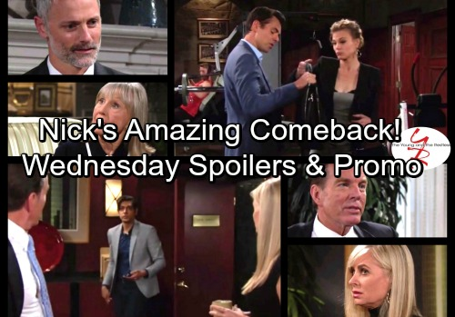 The Young and the Restless Spoilers: Wednesday, October 4 - Nick's Crushing Blow Stuns Victor - Ashley's Myrna Discovery