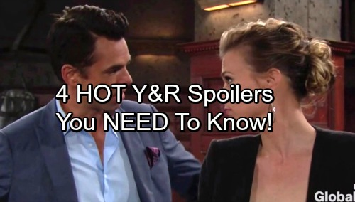 4 Young and the Restless Spoilers You Need to Know - Week Of October 3-6