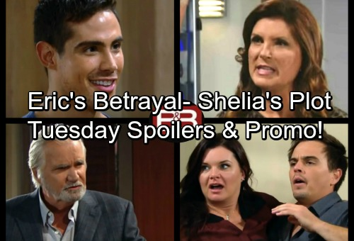 The Bold and the Beautiful Spoilers: Tuesday, October 3 - Eric's Tough Decision Leads to Betrayal – Sheila Manipulates Mateo