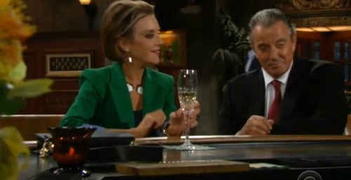 The Young and the Restless Spoilers: Victor and Gloria Form Romantic Bond - Odd Couple Play Games in Genoa City