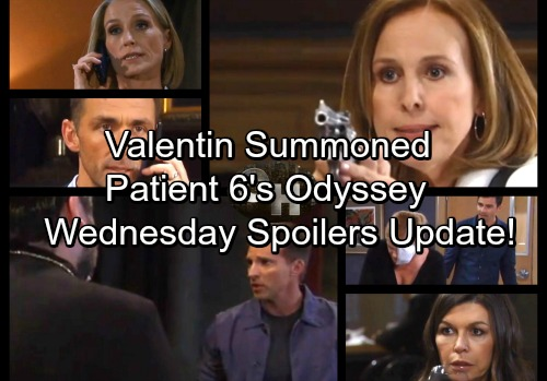 General Hospital Spoilers: Wednesday, October 4 Update – Ava Stalls Escape Plan – Valentin Is Summoned – Patient Six's Voyage
