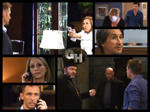 General Hospital Spoilers: Wednesday, October 4 – Laura Holds Valentin at Gunpoint – Patient Six's Lucky Break