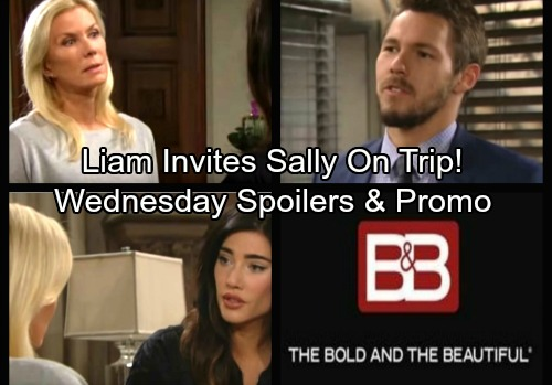 The Bold and the Beautiful Spoilers: Wednesday, October 4 - Liam Stuns Sally with San Francisco Trip – Brooke Finished With Bill