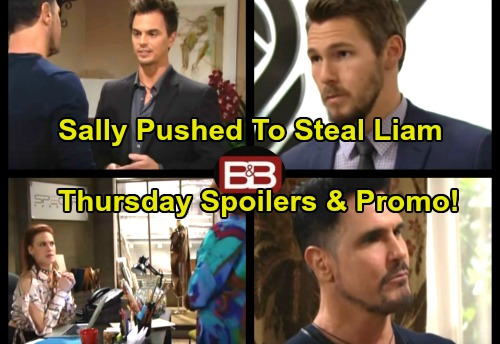 The Bold and the Beautiful Spoilers: Thursday, October 5 - Shirley Pushes Sally to Steal Liam – Wyatt Is Bill's Loyal Servant