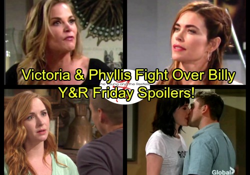The Young and the Restless Spoilers: Friday, October 6 - Noah Drops a Bomb on Tessa – Victoria Makes Phyllis Jealous