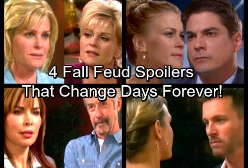 Days of Our Lives Spoilers: 4 Fall Feuds to Watch Out For – DOOL Battles Heat Up and Get Nasty