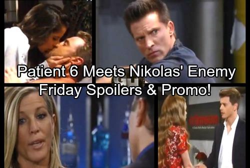 General Hospital Spoilers: Friday, October 6 – Patient Six Encounters Nikolas Cassadine Enemy – Jason and Sam Hot Loving