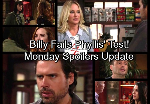 The Young and the Restless Spoilers: Victoria Makes a Shocking Suggestion – Billy Fails Phyllis' Test – Tessa Devastates Mariah